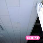 天井修理(岡山市中区K運輸様倉庫)施工事例#3041