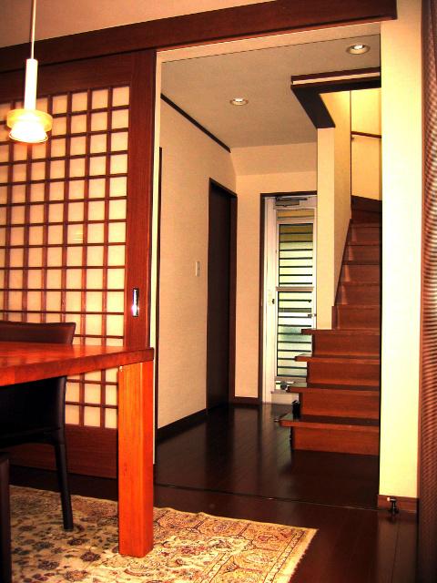 吊り建具設置(岡山市W様邸)施工事例#0564