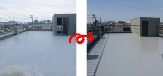 ビル屋上防水工事(玉野市N様)施工事例#13818