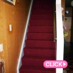 階段カーペット貼替(岡山市北区S様邸)施工事例#3884