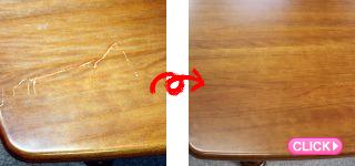 店舗改装工事[家具修理・塗装](岡山市北区法人L様)施工事例#16752