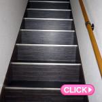 廊下・階段内装(岡山市北区I様所有ビル)施工事例#4708