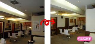 エステサロン店舗内装工事(岡山市北区B様)施工事例#9929